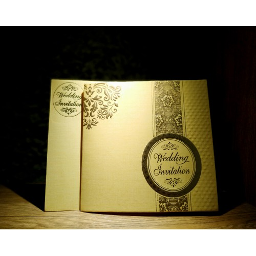 Folding Wedding Cards - 1 Pack (50pices)